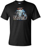 Disney Villains Street Fighter Mash Up Men's Black T-Shirt