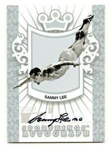 2012 Sport Kings Autograph Sammy Lee M. D. Olympic Champion SP  /90* RIP
