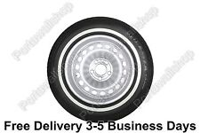"15"" Black&Whitewall Portawall Tyre insert Trim Set VW Bug Beetle FREE DHL SHIP."