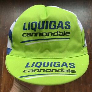 Sugoi Cannondale / Liquigas Cycling Team Classic Race Cap Hat Italy Made Small