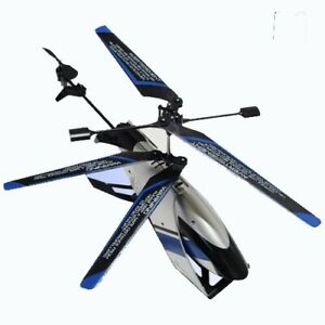 SkyRover Renegade Helicopter Remote Control Silver/Blue - US858250-2