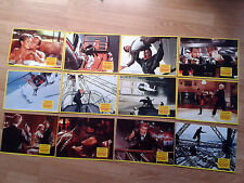 JAMES BOND 007 - A View to a Kill - German lobby card set of 12 ROGER MOORE 1985
