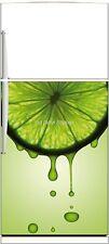 Sticker frigo électroménager déco cuisine Citron 60x90cm Réf 307