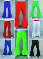 "70's Gentleman's Flared Trousers - 28-44"" waist , 8 color options"