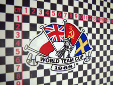 Speedway World Cup Sticker 1968 - Nice for Classic Jawa