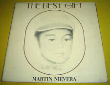 PHILIPPINES:MARTIN NIEVERA - The Best Gift LP ALBUM,OPM,Private Boogie,Soul,Pop