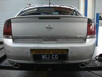Direct Fit VAUXHALL VECTRA 3.2 CAT BACK EXHAUST  UK Made