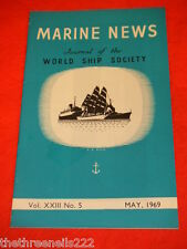 MARINE NEWS - MAY 1969 VOL XXlll # 5