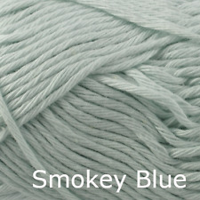 Rico Creative Cotton Aran - 100% Cotton Knitting & Crochet Yarn - Smokey Blue 31