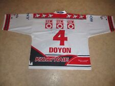 Kölner Haie KEC Russell Athletic Eishockey Trikot 99/00 + Nr.4 Doyon Gr.XL- XXL