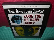 QUE FUE DE BABY JANE - DAVIS - CRAWFORD - DVD