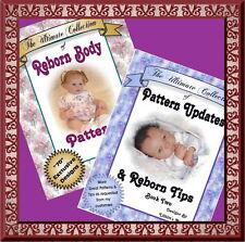REBORN DOLL BODY PATTERNS 2 BOOKS ON CD!