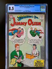 SUPERMAN'S PAL JIMMY OLSEN #75 - CGC 8.5 - RARE HIGH GRADE - Excellent Registrat