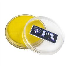 Diamond FX Face Paint - Metallic Yellow 32gr