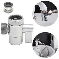 Brass 3-way diverter valve for kitchen bidet or bathroom basin faucet valve
