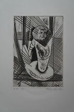 ATILA BIRO (1931-1987) - Gravure E.A  2/2  - COMPOSITION  1982  - Signé