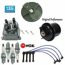 Tune Up Kit Filter Cap Rotor Plugs Wire for Honda Civic EX; Si; 1.6L 1995