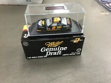 1995 ACTION RUSTY WALLACE MILLER GENUINE DRAFT  #2 NASCAR 1/64 DIE CAST CAR