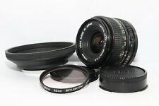 CANON FD 28mm 2,8 Obiettivo Grandangolo + Filtro HOYA + Hood Reflex A-1 AE-1 F-1