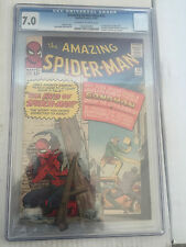 Amazing Spiderman #18 CGC 7.0 Stan Lee Sandman Fantastic Four free shipping