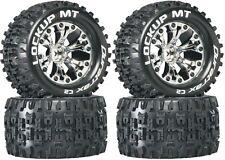 Duratrax 2.8 Mounted Lockup MT Tires Wheels (4) 4WD Stampede Savage XS Flux F/ R