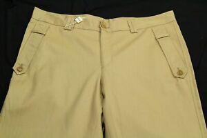 Moschino Men's Khaki Pants Size 48 Made In Italy (size US 32)
