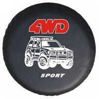 Car Spare Wheel Tire Cover Tyre Protector Bag for Mitsubishi Pajero Outlander