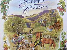 4CD Essential Classics: Bach Mozart Vivaldi Rossini Verdi Schubert Dvorak Elgar