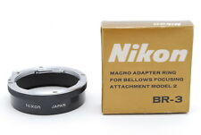 Nikon BR-3 Macro Adapter RING【EXC+++++】From Japan 240