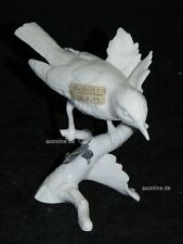 +*A010549_07 Goebel Archiv Muster Vogel auf Birke Vogelart? TMK5 Plombe weiß