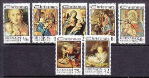 Grenada Grenadines 1975 Christmas set fine used