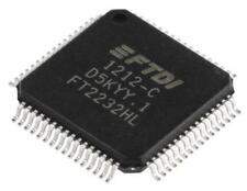 1 x FTDI Chip FT2232HL Dual UART Interface RS232 RS422 RS485 480Mbit/s 64-Pin LQ
