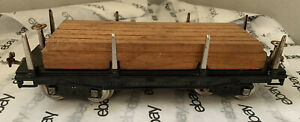 Lionel No. 211 Standard Gauge Flatcar/ Lumber Car