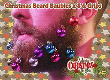 Christmas Secret Santa Mens Novelty Xmas Present Baubles For Beards Decorations