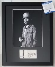 CHANCE THE RAPPER SIGNED DISPLAY BECKETT BAS COA CHICAGO AUTOGRAPHED RAP RARE