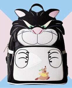 Loungefly X LASR Exclusive Disney Lucifer Mini Backpack Cinderella *UK SELLER*