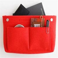 Makeup Storage Bag Handbag Organizer Insert Multi-functional Travel Cosmetic Bag