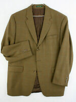 Vtg 90s LAUREN RALPH LAUREN Lambs Wool Suit Coat Jacket LORD & TAYLOR Men's 46L