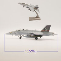 1/100 Scale Mcdonnell Douglas F-18B Hornet Strike Fighter Diecast Airplane Model