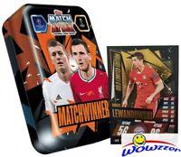 2020/21 Topps Match Attax Champions League MATCH WINNERS Tin-Robert Lewandowski