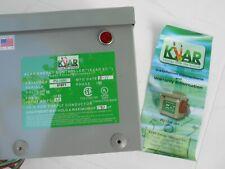 Kvar Pu-1200 Energy Savings Model