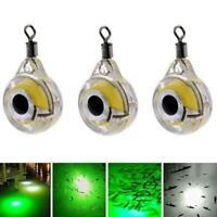 Fishing Flashing LED Light Lure Underwater Night Fishing Light J4H7 Bait G0Y1