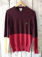 Men's Vivienne Westwood Wool Jumper Sweater Size M Made in Italy