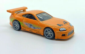 Hot Wheels FAST AND FURIOUS PREMIUM DIORAMA -SUPRA- W/REAL RIDERS LOOSE VHTF!!