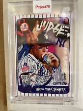Topps Project 70 Aaron Judge by Gregory Siff Card #58 New York Yankees