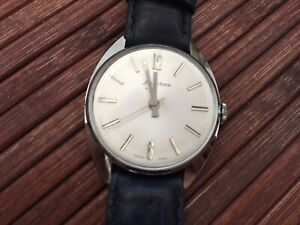 Lucerne handwinding swiss made watch NOS - leather strap