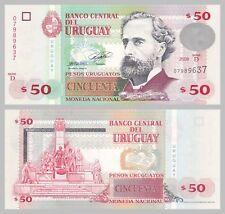 Uruguay 50 Pesos Uruguayos 2008 p87a unz.