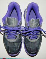 Reebok Zig Tech Womens Purple & Black Walking Running Sneakers Size5.5