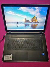 HP 17-F233CL ENVY Touchsmart laptop Intel I5-5200U 2.2-2.7ghz 12GB RAM 480GB SSD