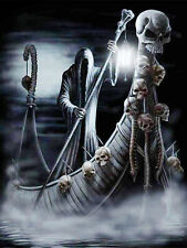 Death Devil Skull Boat Ghost Ship Full drill 5D Diamond Painting Fashion N6127